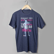 Softball T-Shirt Short Sleeve This Princess Wears Cleats