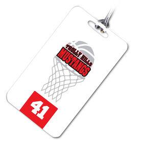 Basketball Bag/Luggage Tag Your Logo Here