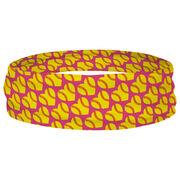 Softball Multifunctional Headwear - Softball Hearts RokBAND