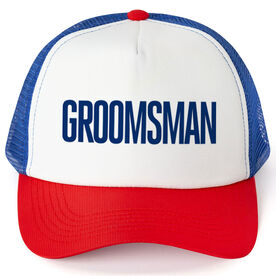 Personalized Trucker Hat - Groomsman