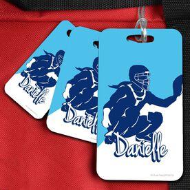 Softball Bag/Luggage Tag Personalized Softball Catcher