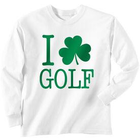 Golf TShirt Long Sleeve I Shamrock Golf