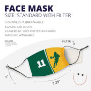 Basketball Face Mask - Personalized Player Female