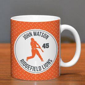 Baseball Coffee Mug Personalized Batter