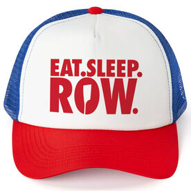 Crew Trucker Hat - Eat Sleep Row