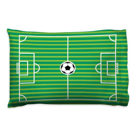 Soccer Pillowcase - Field
