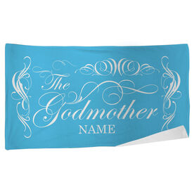 Personalized Beach Towel - The Godmother