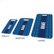 Personalized Bag/Luggage Tag - Personalized Plaid