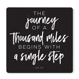 """Running 12"""" X 12"""" Removable Wall Tile - The Journey Of A Thousand Miles"""