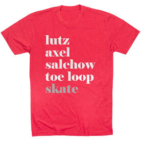 Figure Skating Short Sleeve T-Shirt - Skate Mantra