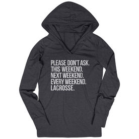 Lacrosse Lightweight Performance Hoodie - All Weekend Lacrosse