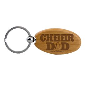 Cheer Dad Maple Key Chain