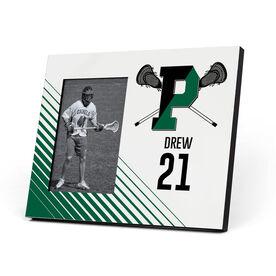 Lacrosse Photo Frame - Pentucket Youth Lacrosse Logo (Green)