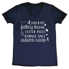 Women's Short Sleeve Tech Tee - Awesome Autumn