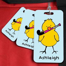 Field Hockey Bag/Luggage Tag Field Hockey Chick