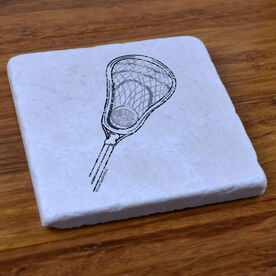 Lacrosse Stick - Stone Coaster
