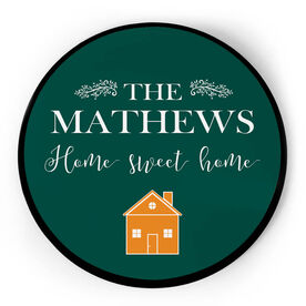 Personalized Circle Plaque - Home Sweet Home