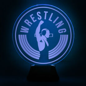 Wrestling Acrylic LED Lamp Victory