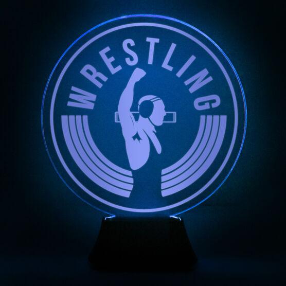 Wrestling Acrylic LED Lamp Victory