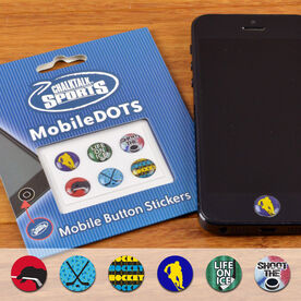 Hockey MobileDOTS Home Button Sticker for iPhone and iPad