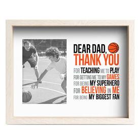 Basketball Premier Frame - Dear Dad
