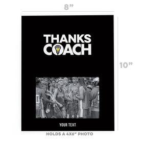 Girls Lacrosse Photo Frame - Coach (Autograph)