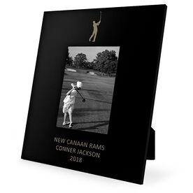 Golf Engraved Picture Frame - Guy Golfer