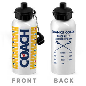 Crew 20 oz. Stainless Steel Water Bottle - Coach With Roster