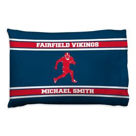 Football Pillowcase - Personalized Running Back