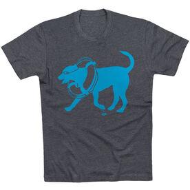Swimming Tshirt Short Sleeve Finn The Swim Dog