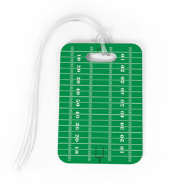 Football Bag/Luggage Tag - Football Field
