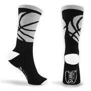 Basketball Woven Mid-Calf Sock Set - Stealth