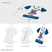 Baseball Jersey Bag/Luggage Tag - Custom Team Logo