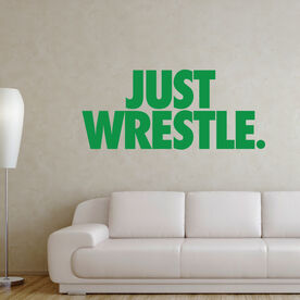 Wrestling Removable Wall Decal - Just Wrestle