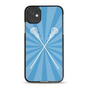 Girls Lacrosse iPhone® Case - Lax Rays