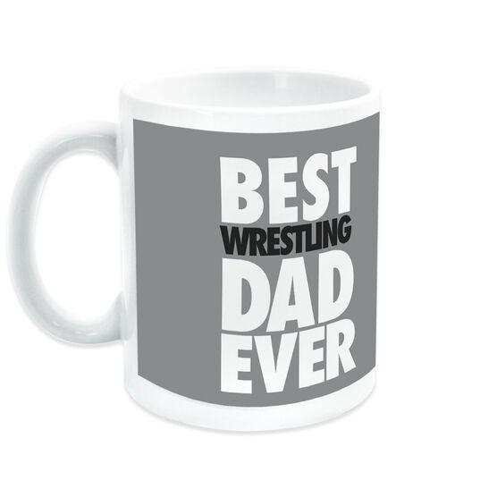 Wrestling Coffee Mug Best Dad Ever
