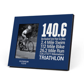 Triathlon Photo Frame - 140.6 Math Miles