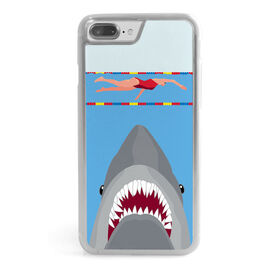 Swimming iPhone® Case - Shark Attack