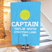Tennis Premium Blanket - Personalized Captain