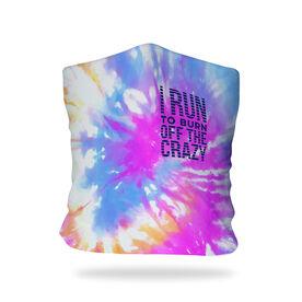 Running Multifunctional Headwear - I Run To Burn Off The Crazy Tie-Dye RokBAND