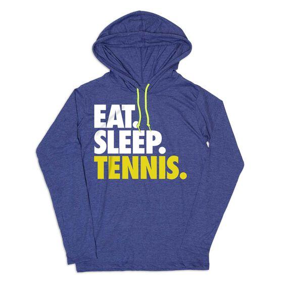 Women's Tennis Lightweight Hoodie - Eat Sleep Tennis
