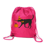 Field Hockey Sport Pack Cinch Sack - Witch Dog