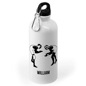 Wrestling 20 oz. Stainless Steel Water Bottle - Wrestling Silhouettes