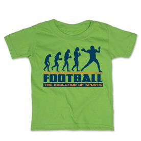 Football Toddler Short Sleeve Tee - Evolution