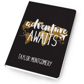 Personalized Notebook - Adventure Awaits