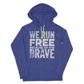 Women's Running Lightweight Hoodie - We Run Free