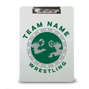 Wrestling Custom Clipboard Wrestling Team Name