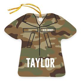 Personalized Ornament - Army Camo