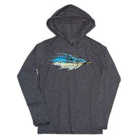 Women's Fly Fishing Lightweight Hoodie - Fly Fishing Clouser