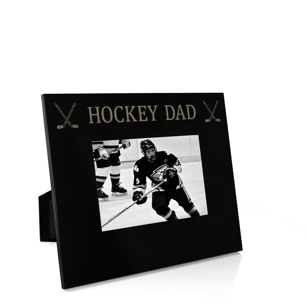 Personalized Engraved //// Hockey //// Picture Frame